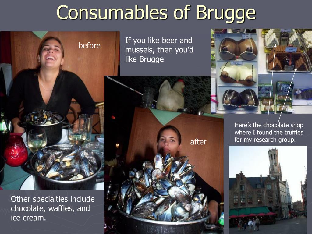 Consumables of Brugge