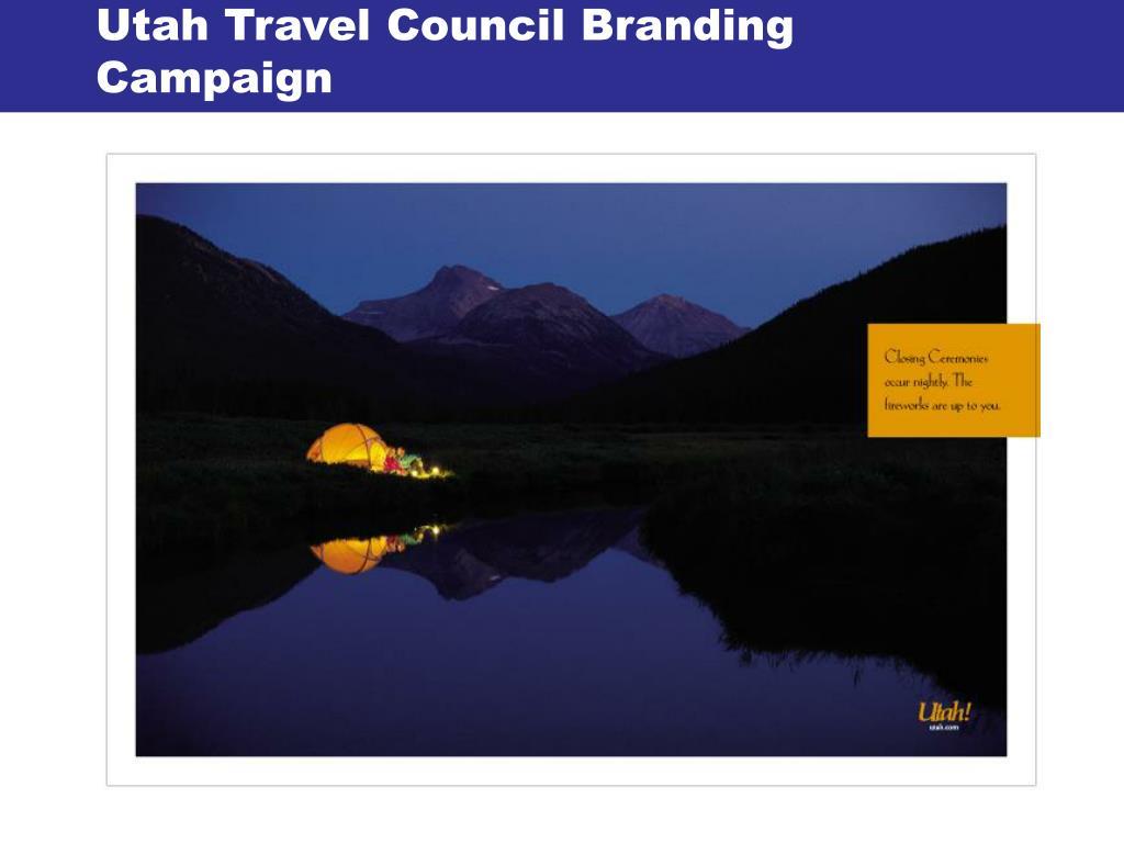 Utah Travel Council Branding Campaign