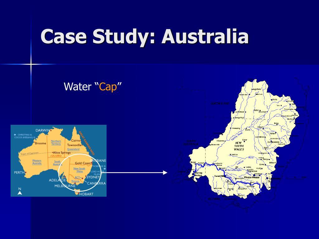Case Study: Australia