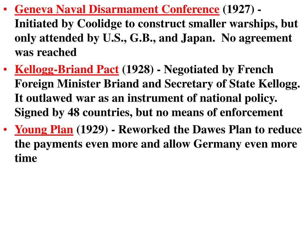 Geneva Naval Disarmament Conference