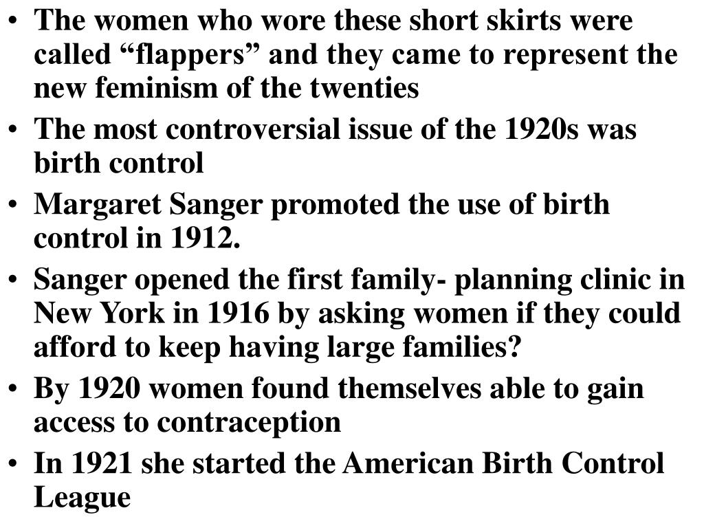 """The women who wore these short skirts were called """"flappers"""" and they came to represent the new feminism of the twenties"""