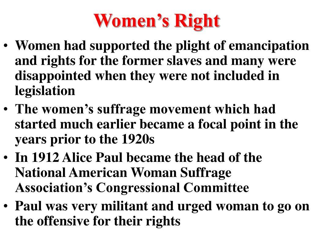 Women's Right