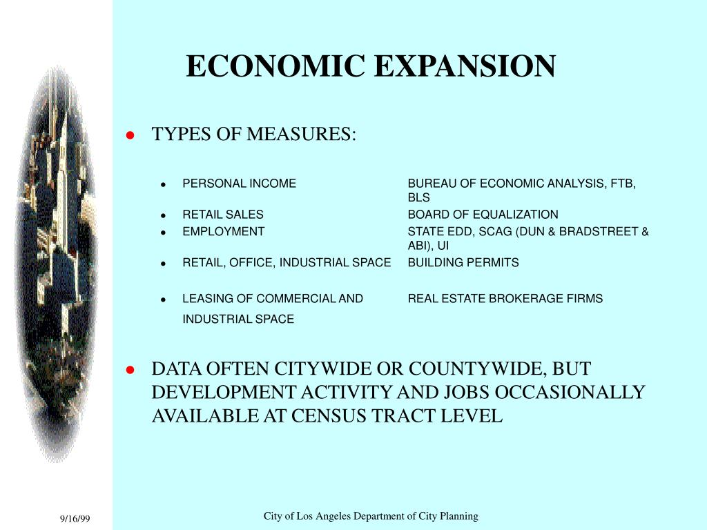 ECONOMIC EXPANSION