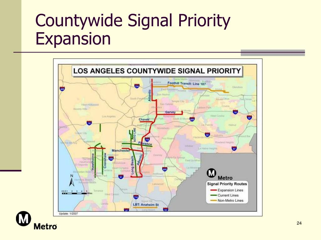 Countywide Signal Priority Expansion