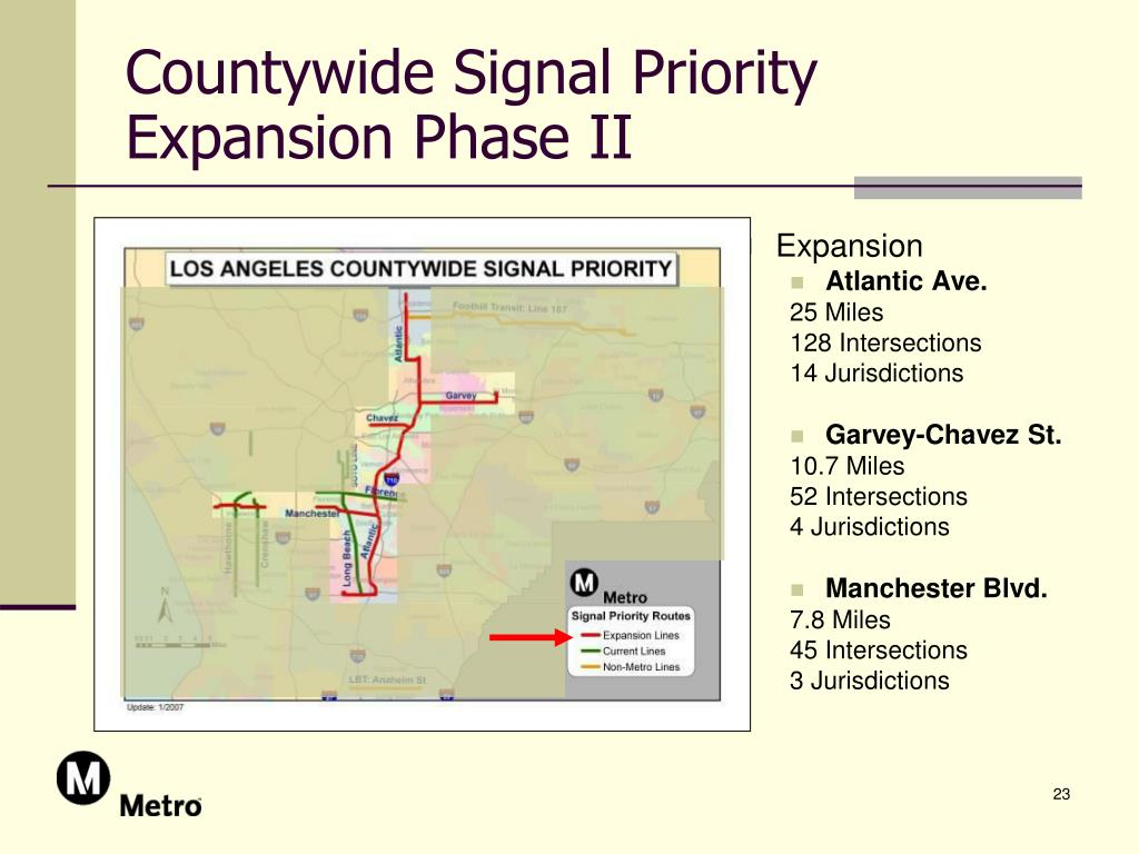 Countywide Signal Priority Expansion Phase II