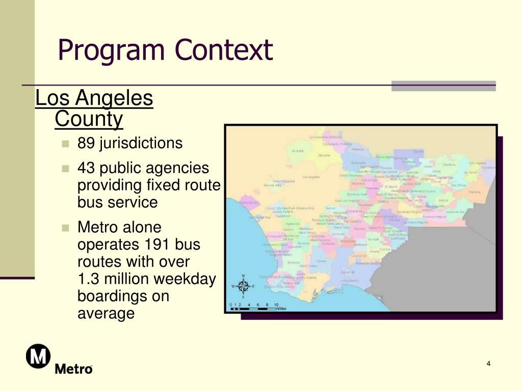 Program Context