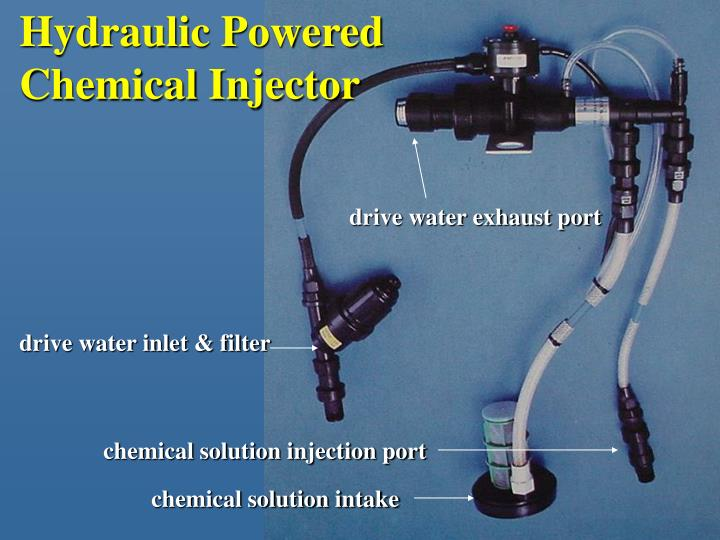 Hydraulic Powered Chemical Injector