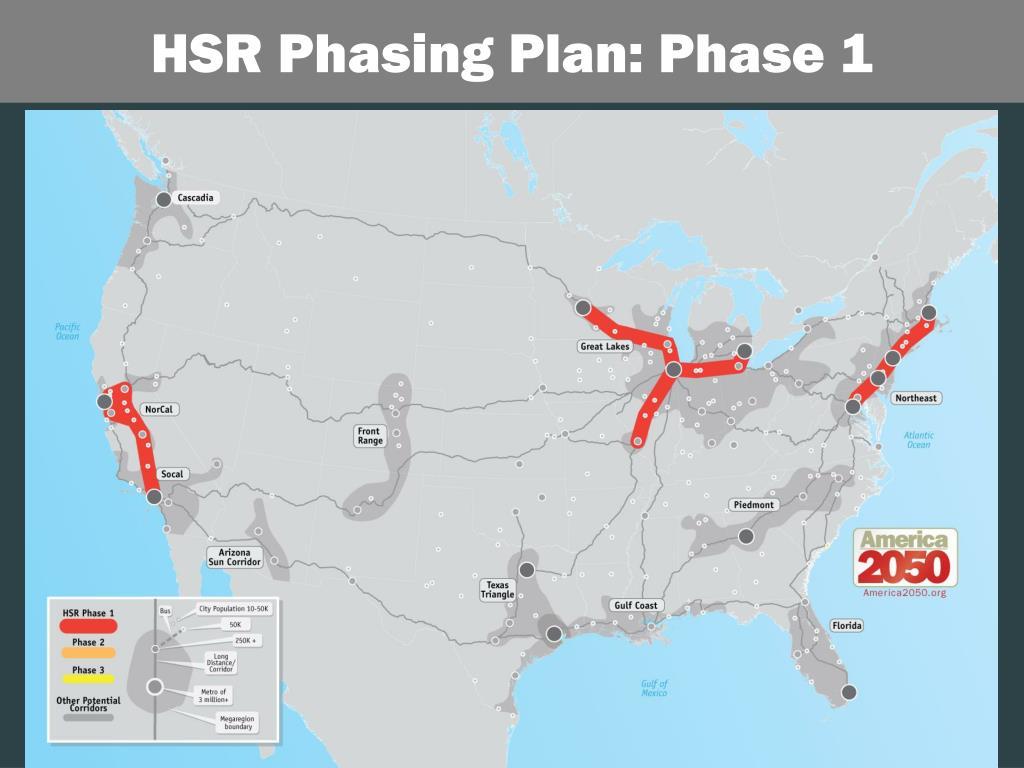 HSR Phasing Plan: Phase 1
