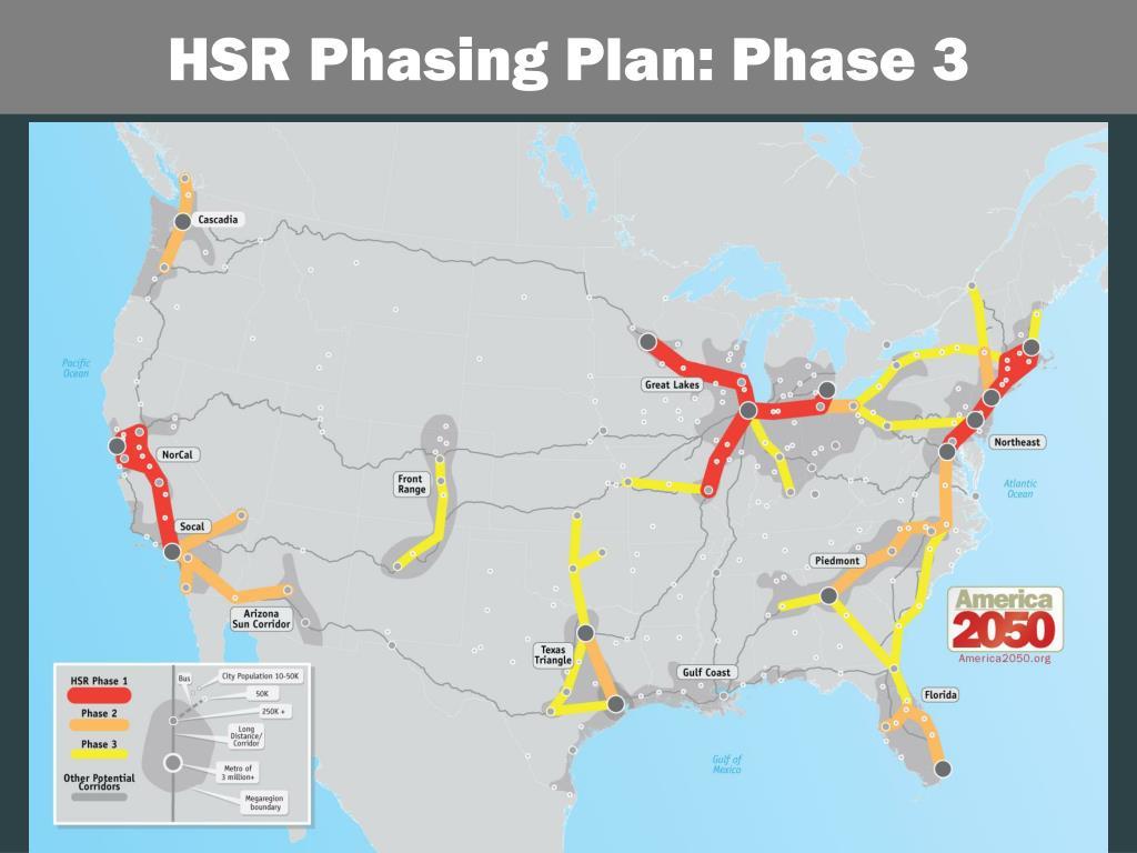 HSR Phasing Plan: Phase 3
