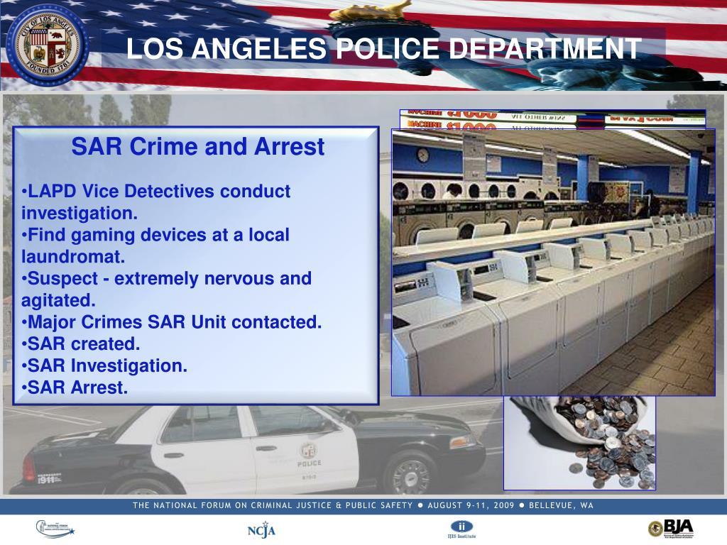 SAR Crime