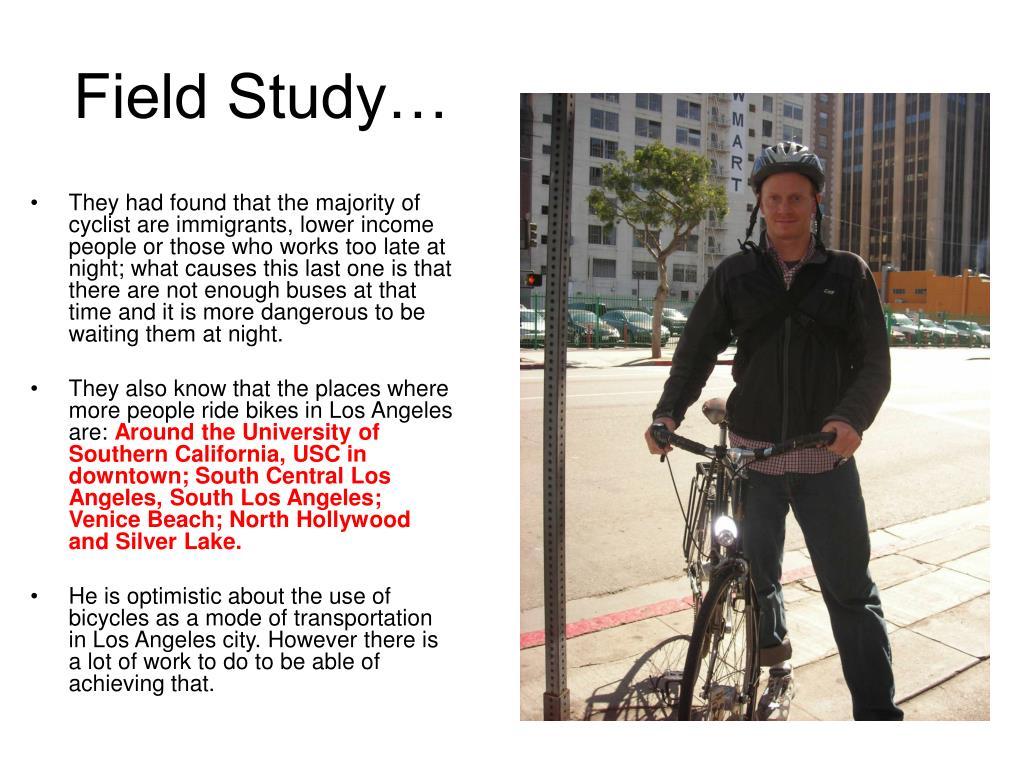 Field Study…