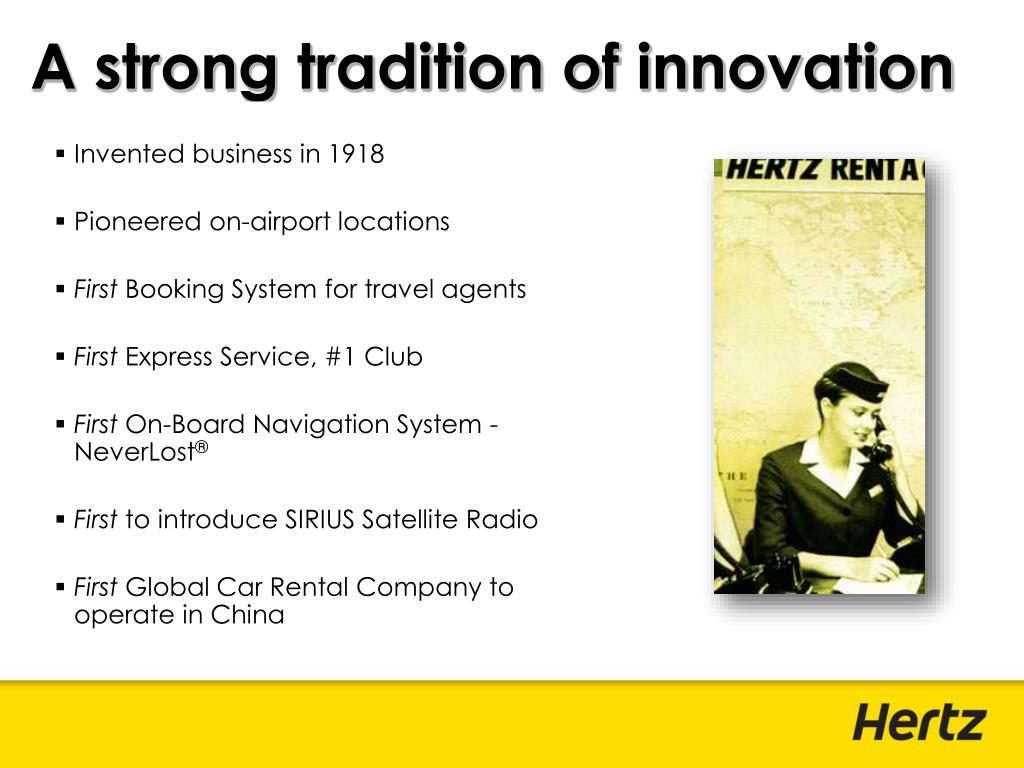 A strong tradition of innovation