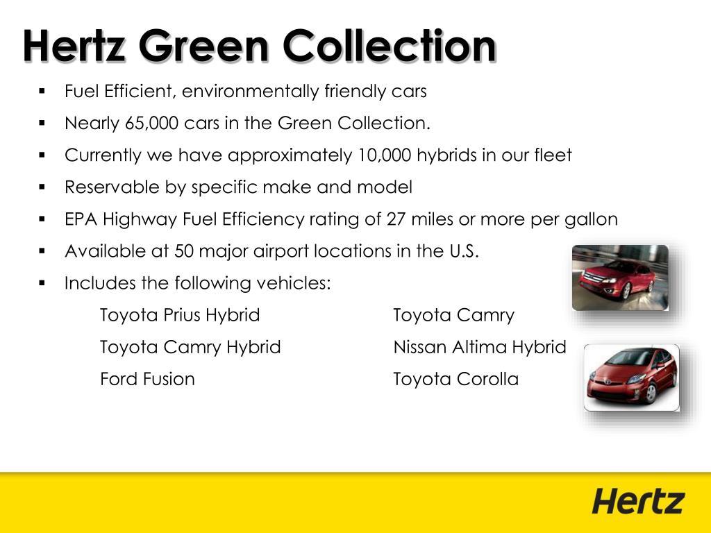 Hertz Green Collection