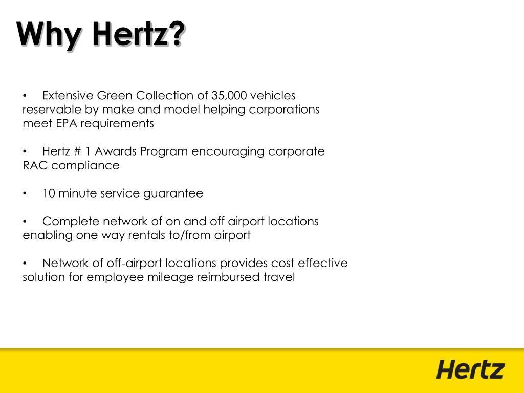 Why Hertz?
