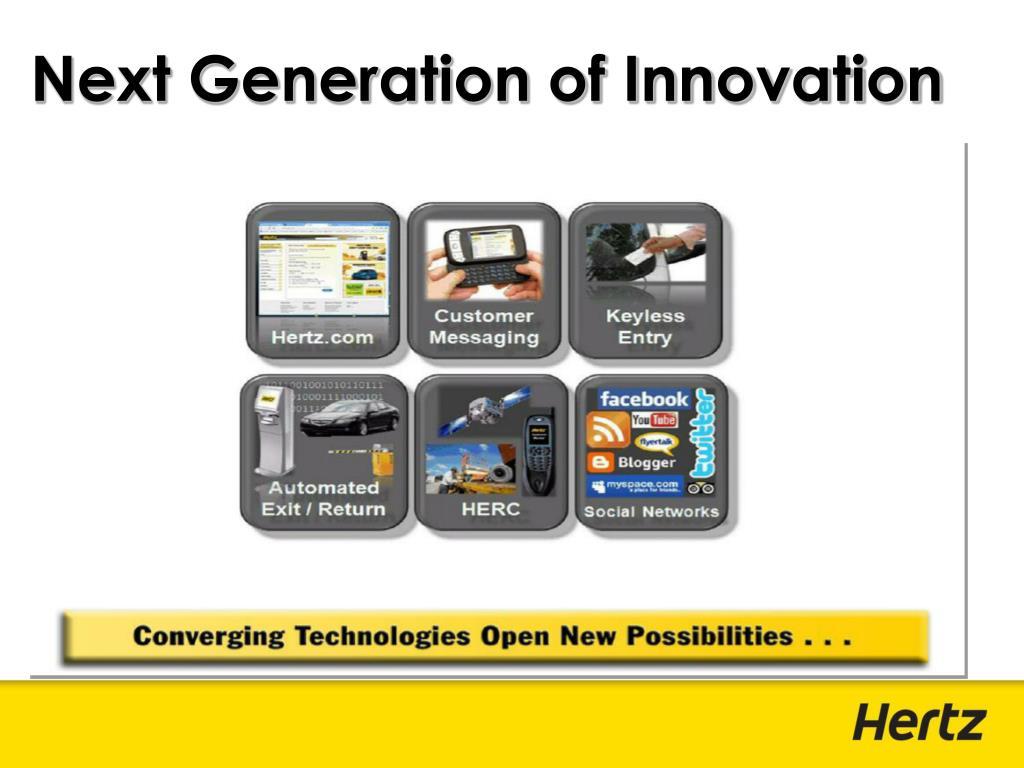 Next Generation of Innovation