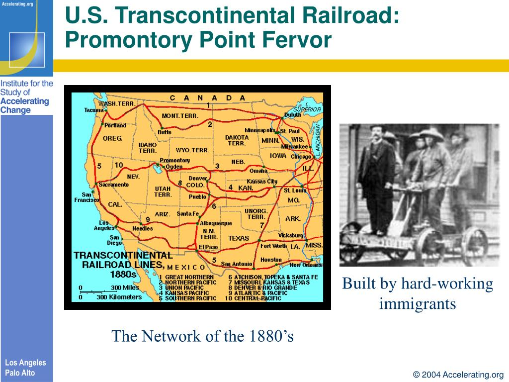 U.S. Transcontinental Railroad: Promontory Point Fervor