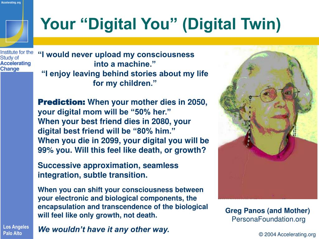 "Your ""Digital You"" (Digital Twin)"