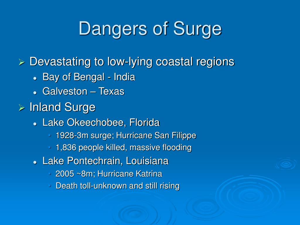Dangers of Surge