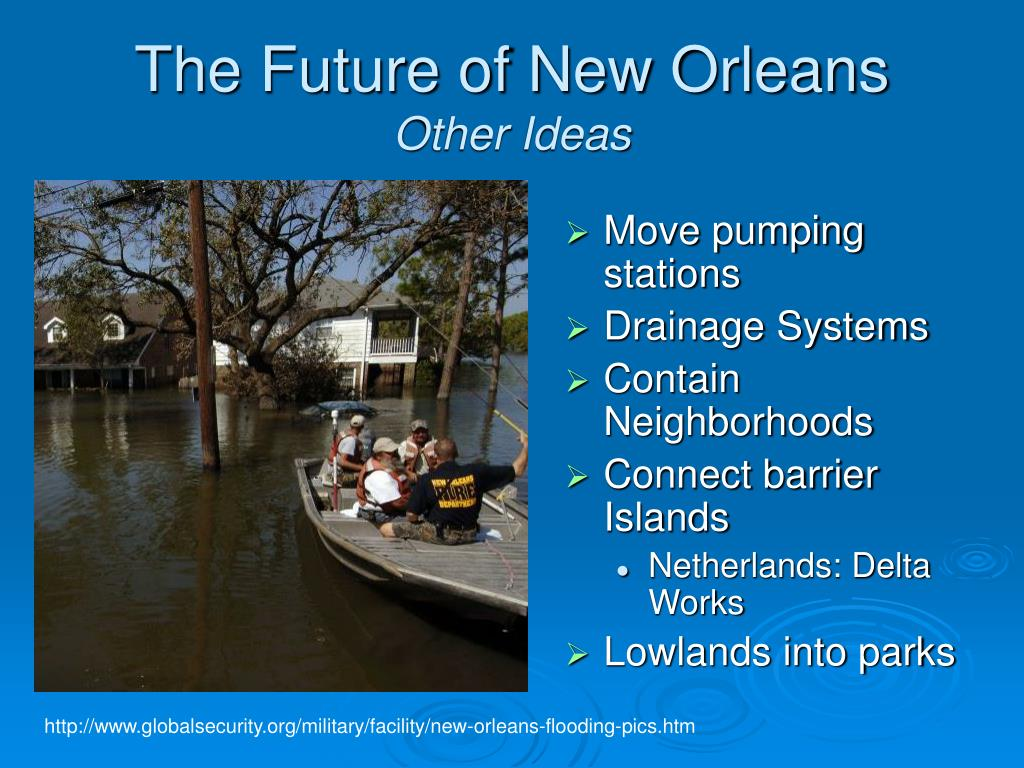The Future of New Orleans
