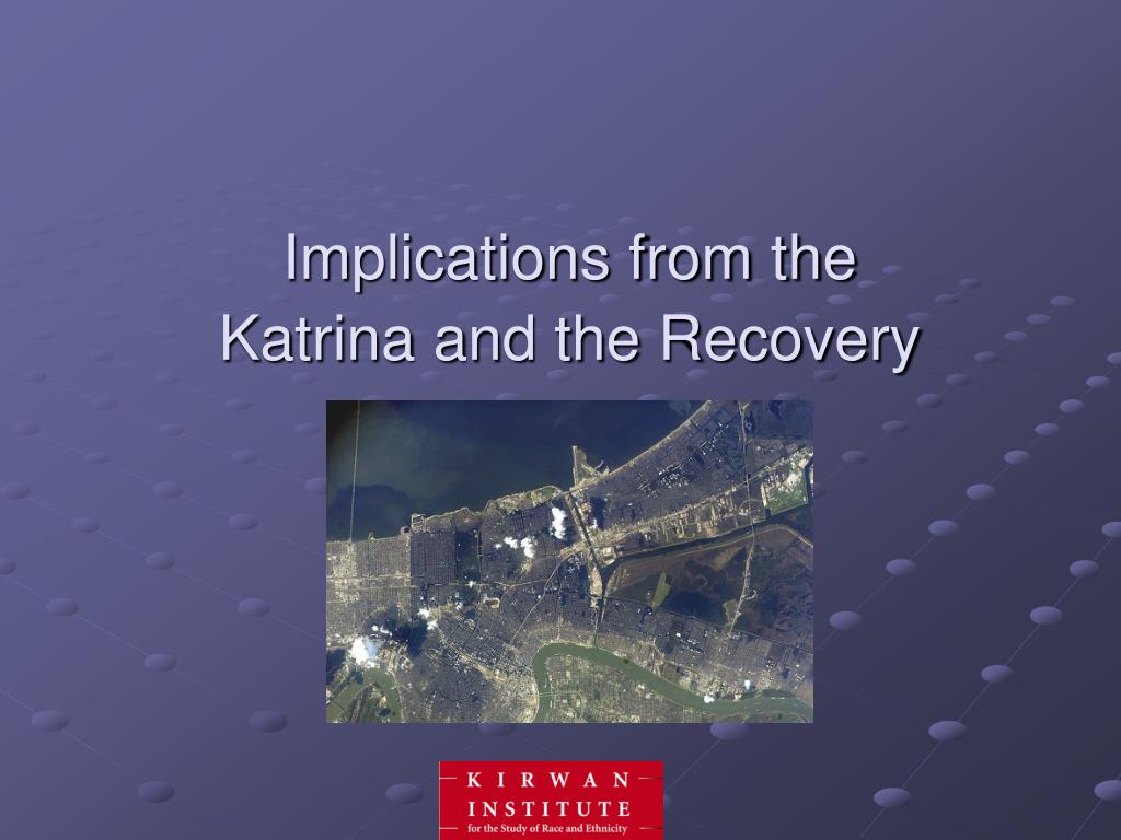Implications from the