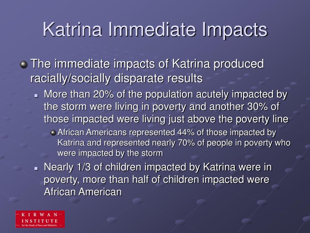 Katrina Immediate Impacts