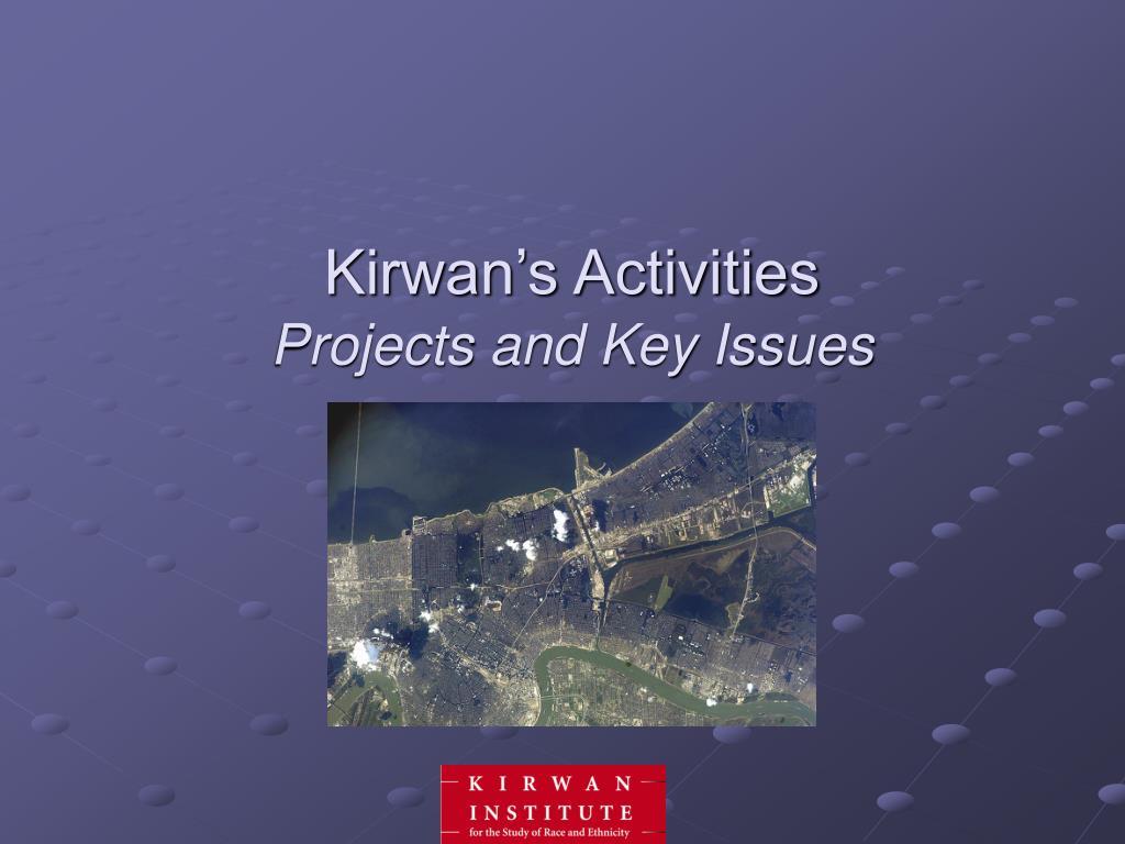 Kirwan's Activities