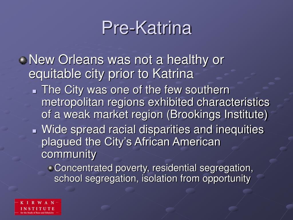 Pre-Katrina