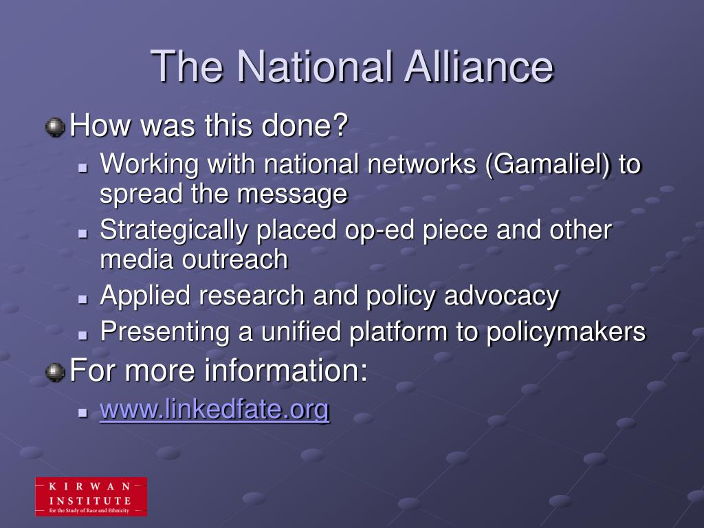 The National Alliance