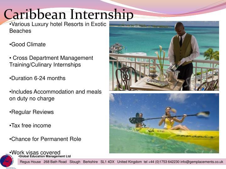 Caribbean Internship