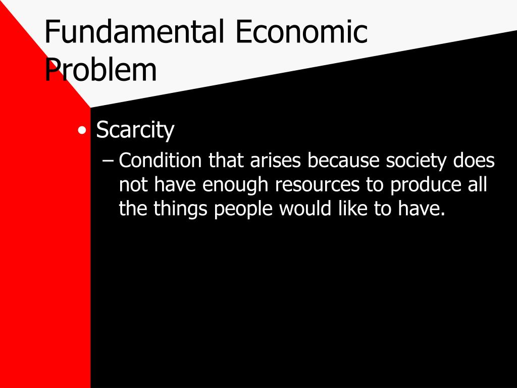 fundamental problems of economic system Start studying chaper 2 learn vocabulary, terms, and more with flashcards, games an economic system the market system's answer to the fundamental question what will be produced is essentially.