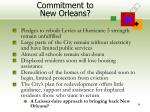 commitment to new orleans