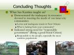 concluding thoughts52