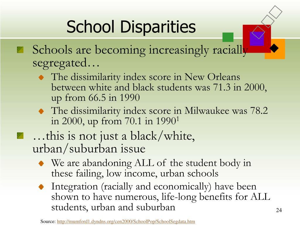 School Disparities