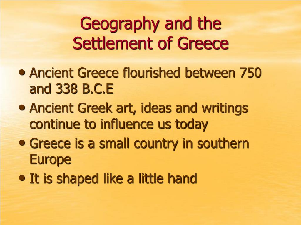 Geography and the