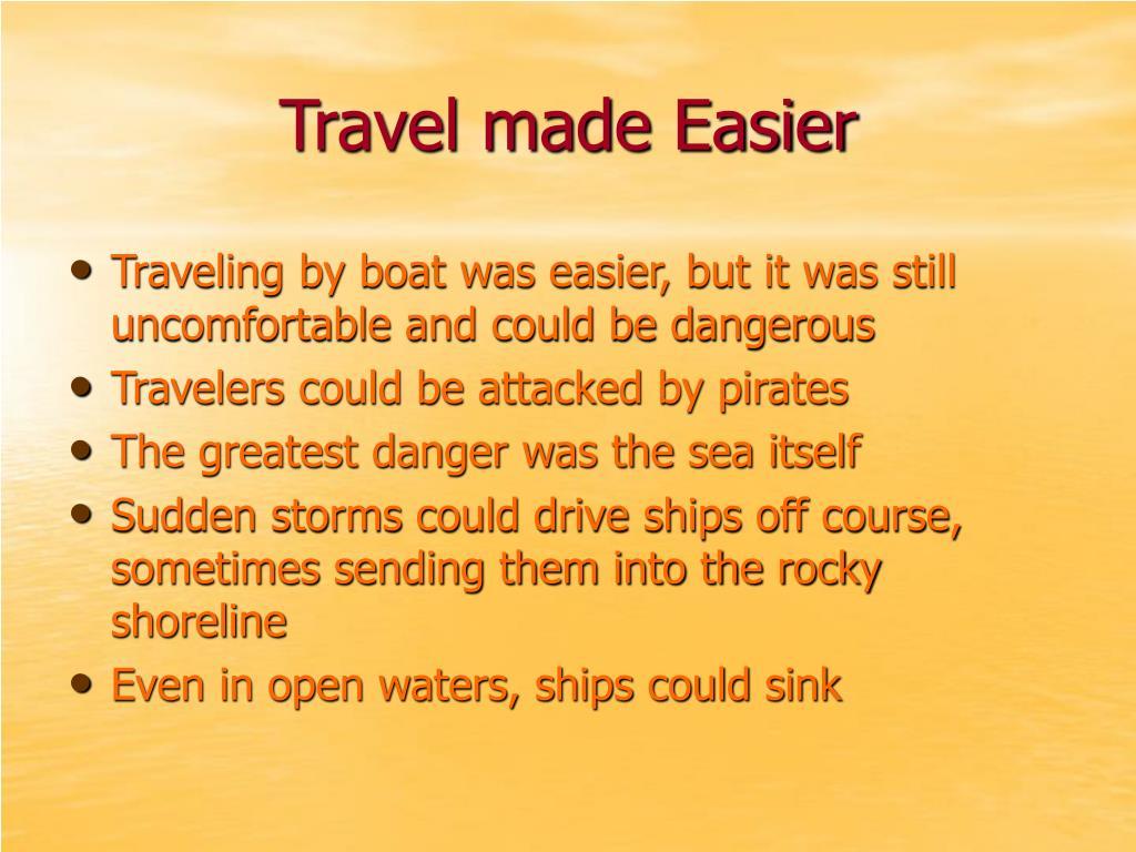 Travel made Easier
