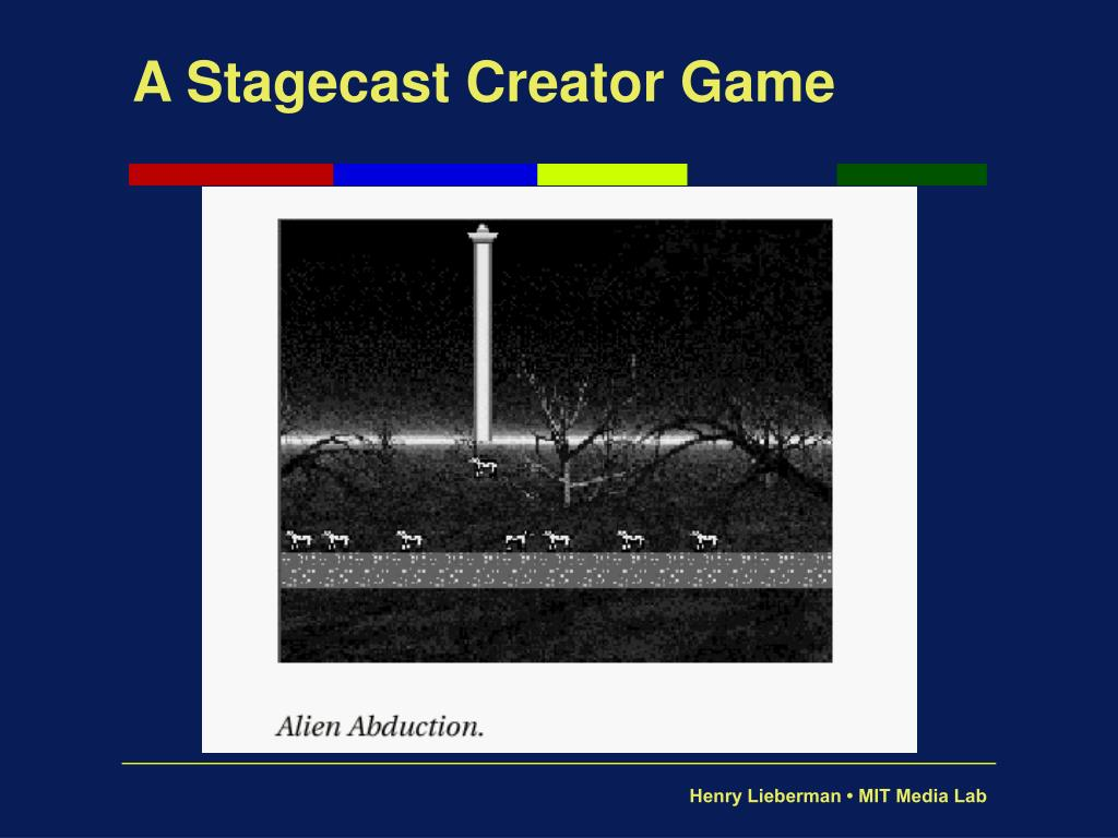 A Stagecast Creator Game