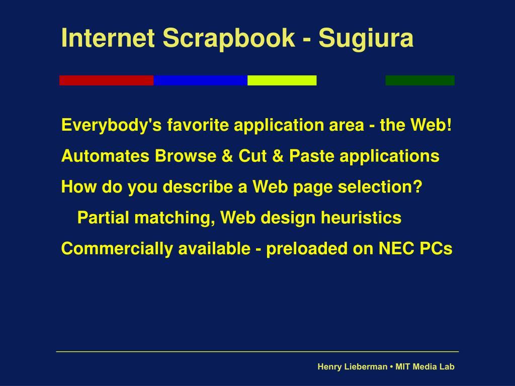 Internet Scrapbook - Sugiura