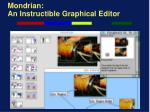 mondrian an instructible graphical editor20