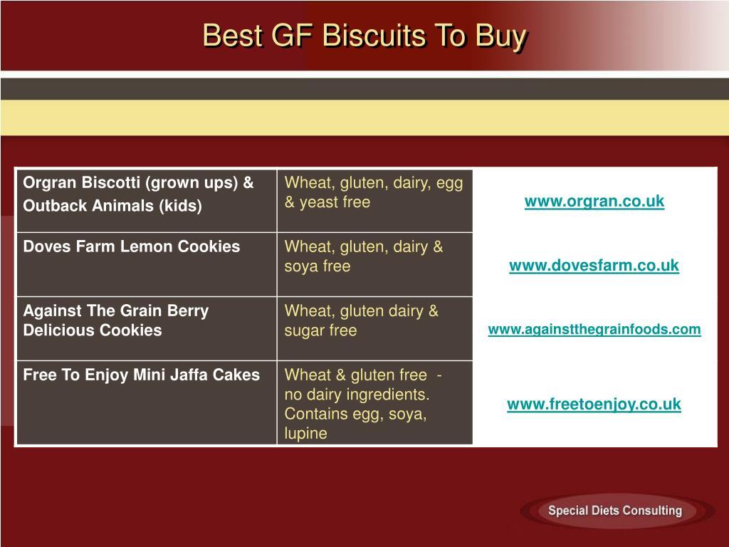 Best GF Biscuits To Buy