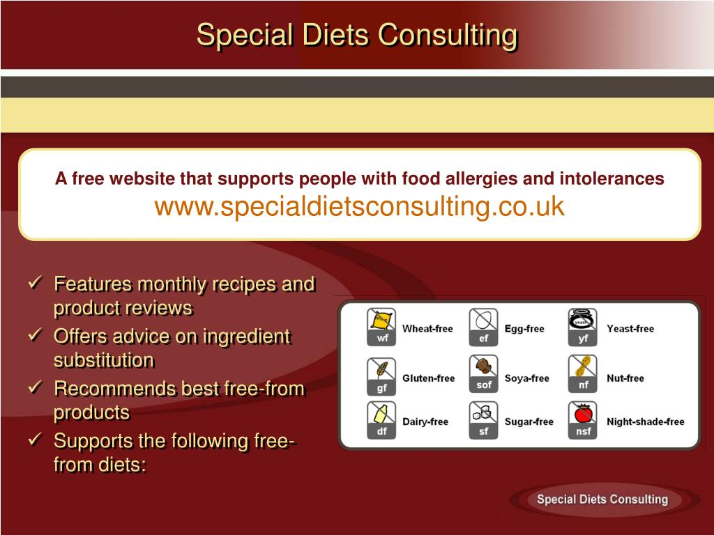Special Diets Consulting