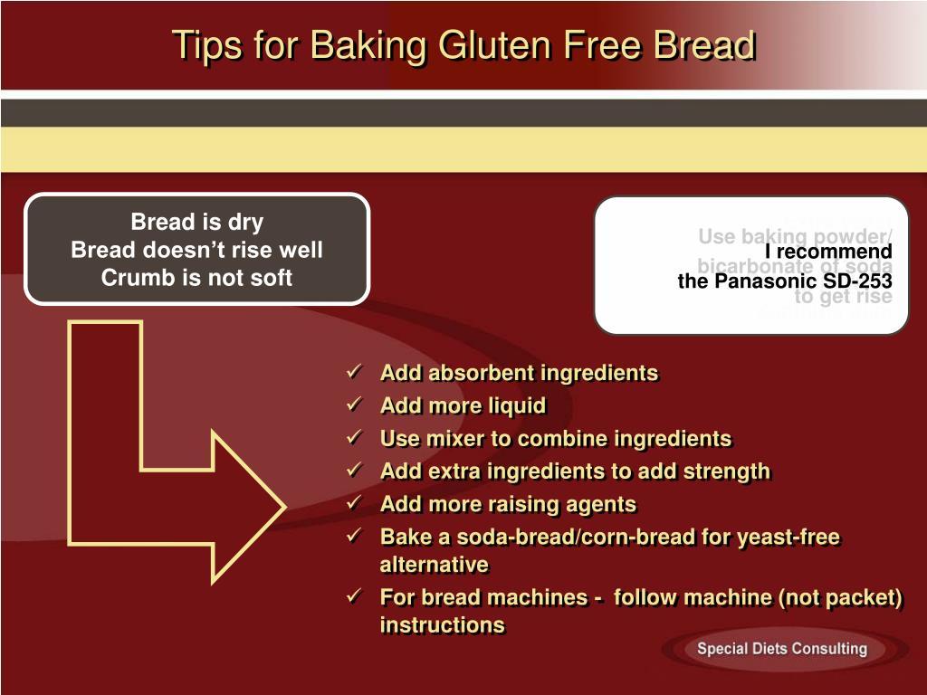 Tips for Baking Gluten Free Bread