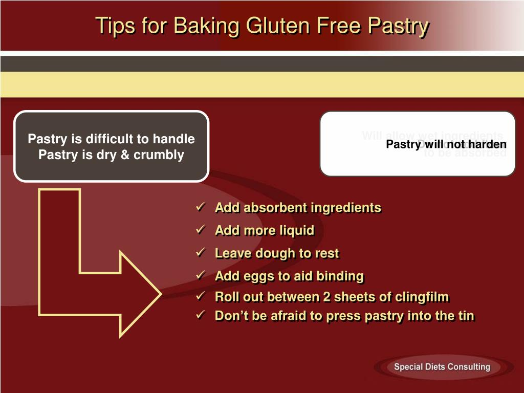 Tips for Baking Gluten Free Pastry