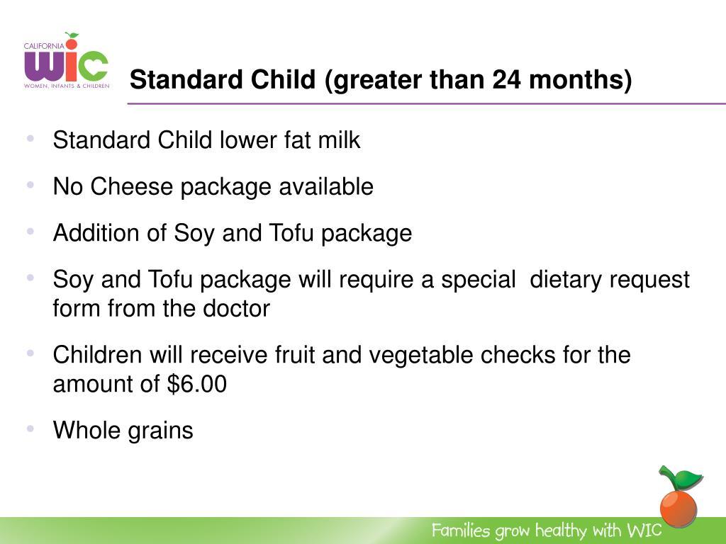 Standard Child