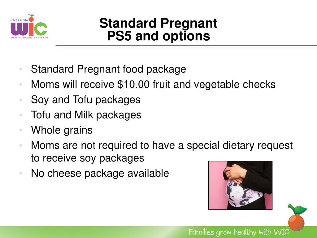 Standard Pregnant