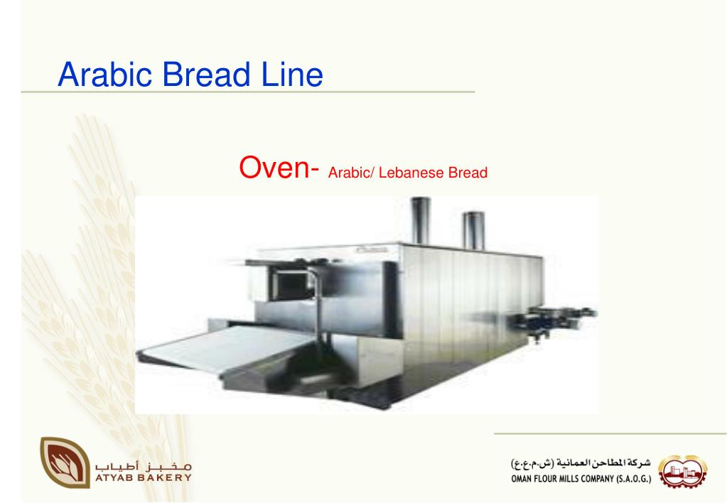Arabic Bread Line