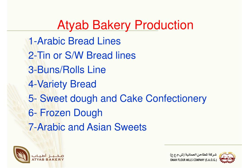 Atyab Bakery Production