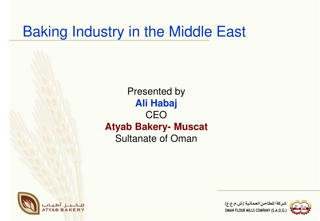 Baking Industry in the Middle East