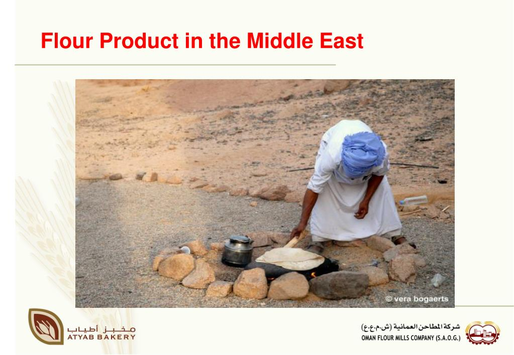 Flour Product in the Middle East
