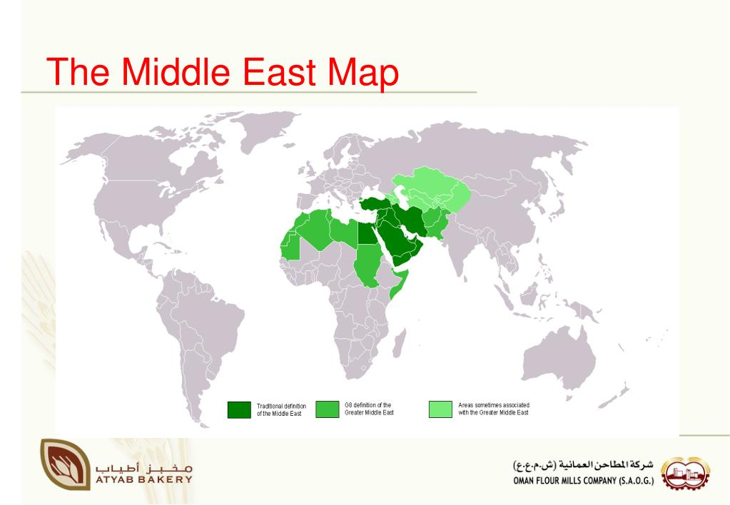 The Middle East Map