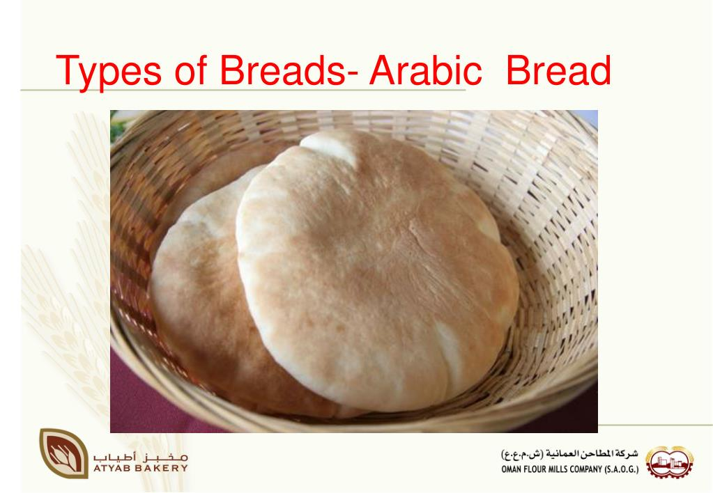 Types of Breads- Arabic  Bread